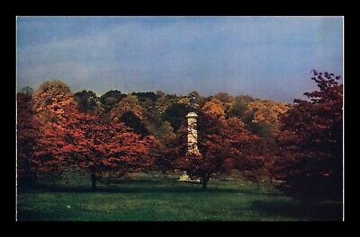 Dr Jim Stamps Us Valley Forge Autumn Leaves Chrome View Postcard