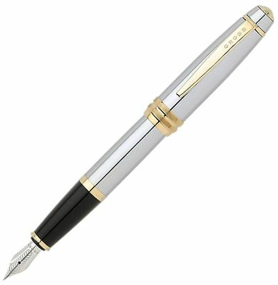 Cross AT04566MS Bailey Medalist Fountain Pen With Medium Stainless Steel Nib