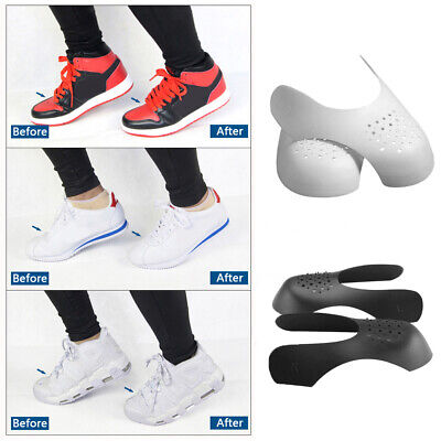 Anti Crease Sneaker Shields Protector Toe Box Decreaser Wearable Inserts Shoes