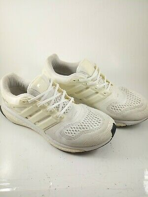 Adidas Energy Boost ESM; White; Pre-Owned; No BOX; B44283; US 10.5 Running Shoes