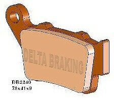 Delta MXD Sintered Rear Brake Pads FA208 Husqvarna TC 570 2001-2002