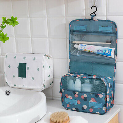 Hanging Toiletry Bag Large Cosmetic Bag Makeup Pouch Waterproof Travel Organizer