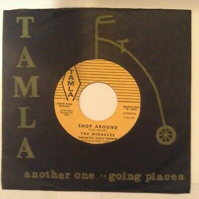 The Miracles - Shop Around / Who's Lovin You - Early Tamla Design - T 54034 - Ex
