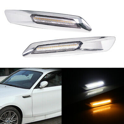 F10 Style LED Side Marker Lamp Turn Signal Light For  For BMW X1 1 3 5 Series
