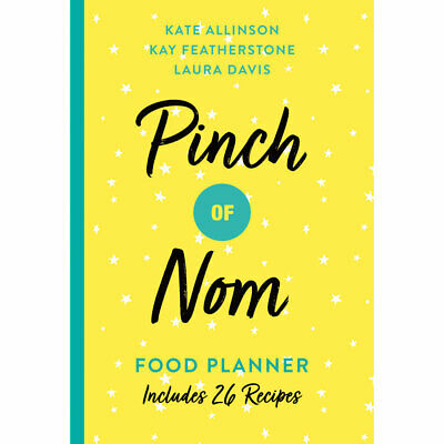 Pinch of Nom - Food Planner (Paperback), Non Fiction Books, Brand New