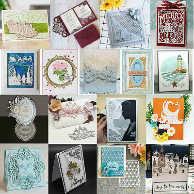 DIY Metal Cutting Dies Embossing Stencil Die Card Paper Scrapbooking Album Craft
