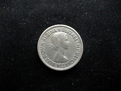 Elizabeth II - Florin/Two Shilling - 1953 - Circulated but in VF+ condition
