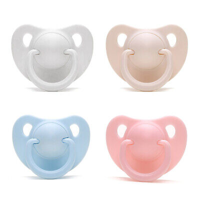 Dummy Nipples Newborn Baby Silicone Pacifier Girls Boys Orthodontic Pacifiers