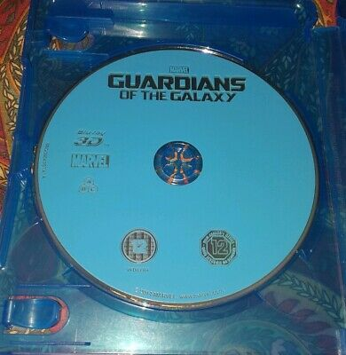 Guardians Of The Galaxy 3d disc only . Watched Once