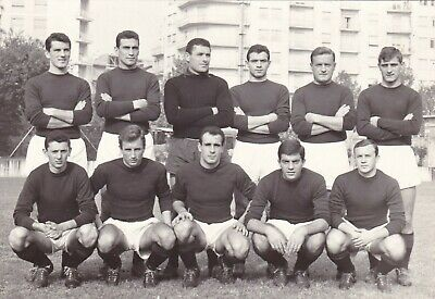 Calcio/Football Cartolina sq. TORINO 1959-'60 Serie B con BEARZOT, FERRINI orig