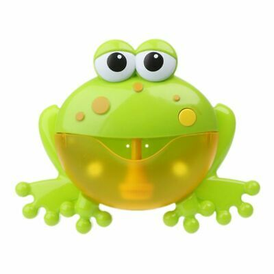 Frog Bubble Maker Bath Toys Crab Bubble Maker Music Bathroom Gifts