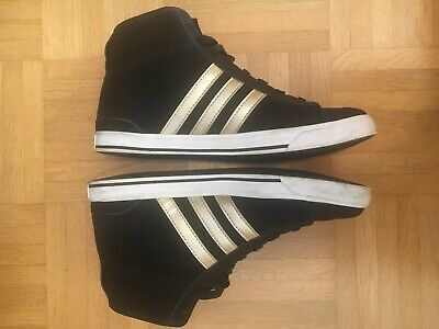 Neo Adidas Stiefel 39 Top Gold High Turnschuhe Schwarz Sneaker 40 Ib7m6Yvfgy