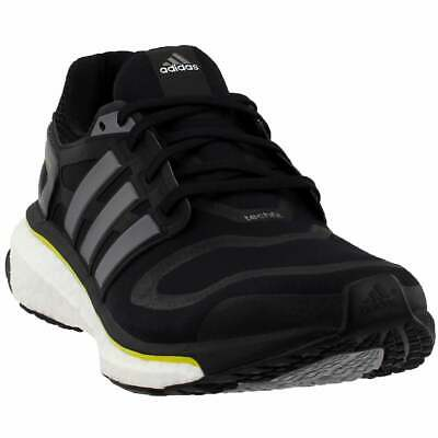 adidas Energy Boost Running Shoes Black - Mens - Size 8 D