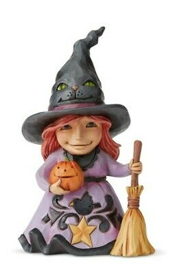 Jim Shore Pint Size Friendly Witch #6004331 BRAND NEW 2019 Free Shipping