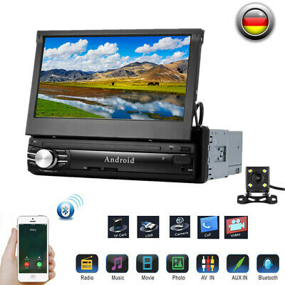 "7"" HD Android 6.0 Quad-Core-Auto-DVD-Player DAB WiFi 3G/4G GPS-Navigation 1080P"
