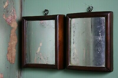 Pair of Antique Fairground Circus Distortion Concave Convex Scientific Mirrors