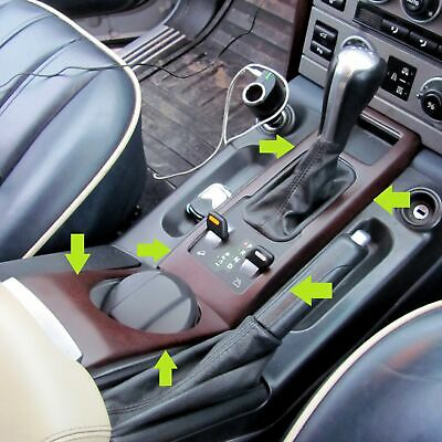 2pc Walnutwood effect Cup+Gear change interior fascia cover kit Range Rover L322