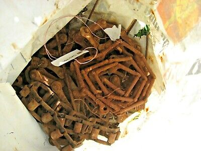 Plastic sack of assorted chains