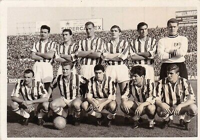 Calcio/Football Cartolina sq. JUVENTUS anni '50 con SIVORI originale