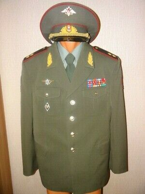 Russia army suit GENERAL 2 stars MVD internal troops Moscow General staff  200X