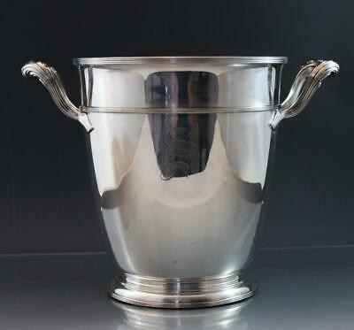 Vintage Gorham Silver Plate Champagne Wine Cooler Bucket Trophy Cup Signed