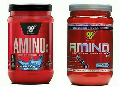 Pack of 2x BSN Amino X SEALED 435 Gram Amazing BCAA, Energy, Amino Acids 2020