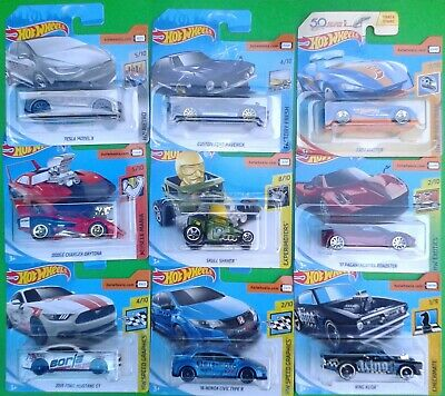 2018 Hot Wheels Cars on short Cards Numbers 208 to 350  (Your Choice)