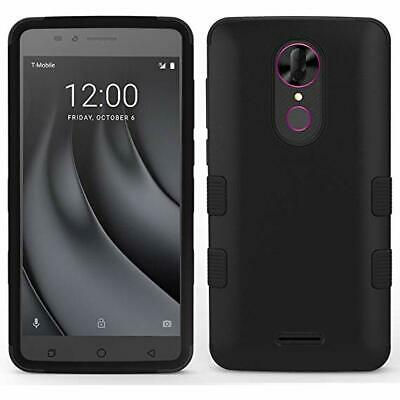 OEM Original T-Mobile Silicone Cover Black Case For T-Mobile REVVL PLUS NEW
