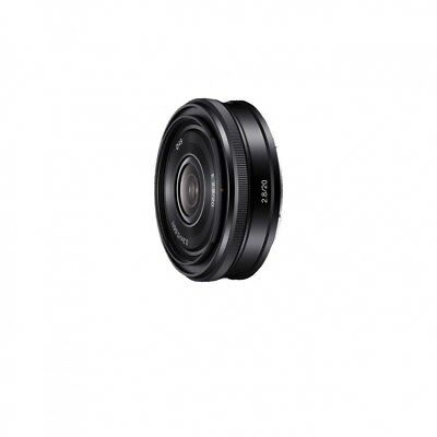 Sony and 20mm F 2.8 E-Mount 35mm SEL20F28 Black