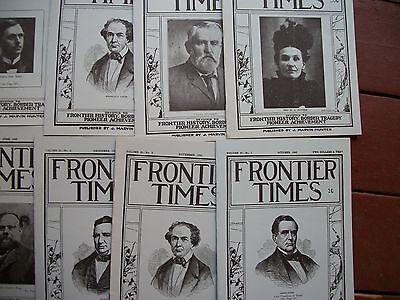 1942 LOT12 iss Frontier Times Goodnight Loving Texas History Genealogy Pioneers