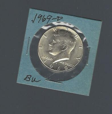 1995-P U.S Mint Wrapped Roll of 20 Kennedy Half Dollars CLAD BU