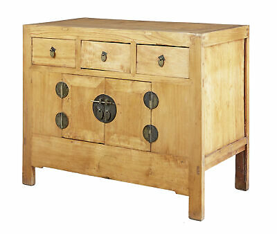 Late 19Th Century Chinese Export Softwood Cabinet
