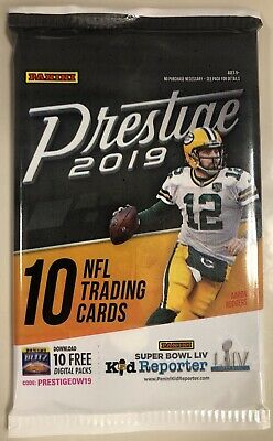 THICK! Jersey/Patch/Relic Hot Pack 2019 Panini Prestige Football