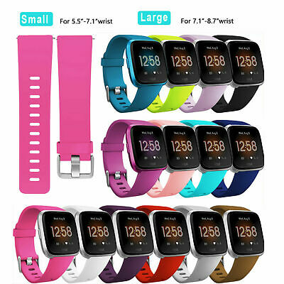 Silicone Sport Band Replacement Bracelet Strap For Fitbit Versa Lite Wristband