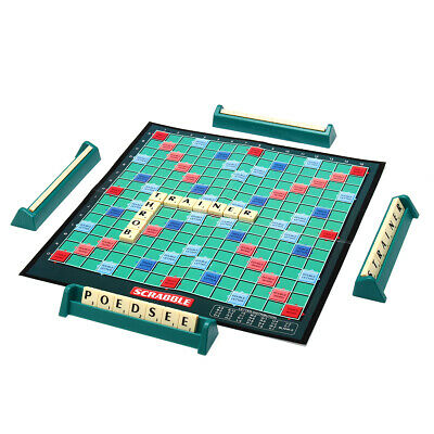 Scrabble Board Game Classic Crossword Game Kids Family Intelligent Puzzle
