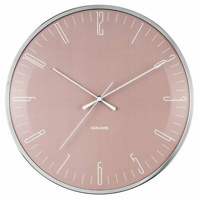 Contemporary Karlsson Sweep Clock Hue 40cm White Wall Silent ZkOXuPiT