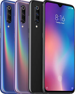 Xiaomi Mi 9 6GB 128GB Smartphone 855 Core AMOLED Screen 3-Camera Wireless Charge