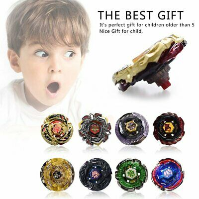 Rare Beyblade Set Fusion Metal Fight Master 4D Top Rapidity With Launcher Grip!