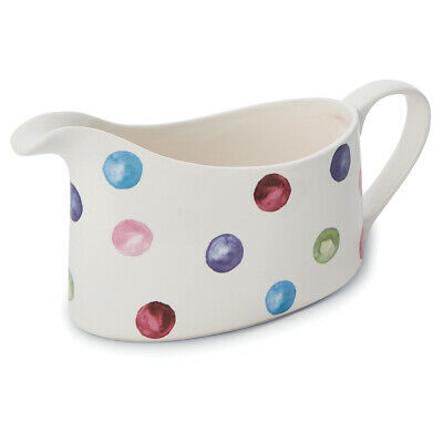 Cooksmart Spotty Dotty Gravy Boat Serving Jug Sunday Roast Dinner Cute Spots