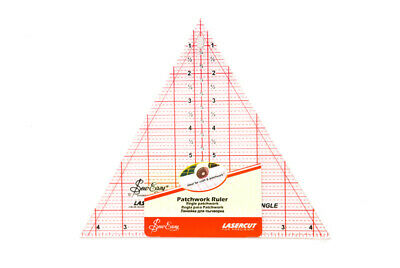 Sew Easy NL4174 Acrylic 60° Triangle Quilting Ruler 8 x 9.5in M/L Equilateral