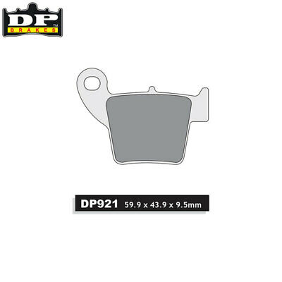 DP Sintered Off-Road/ATV Rear Brake Pads DP921 Honda CRF 450 R 2002-2018