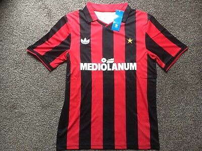 AC Milan retro football shirt (reproduction small mens) BNWT