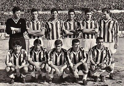 Calcio/Football Cartolina sq. JUVENTUS 1962-'63 con NOLETTI, DEL SOL originale