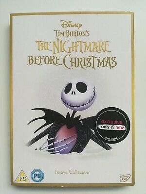 The Nightmare Before Christmas DVD HMV Exclusive