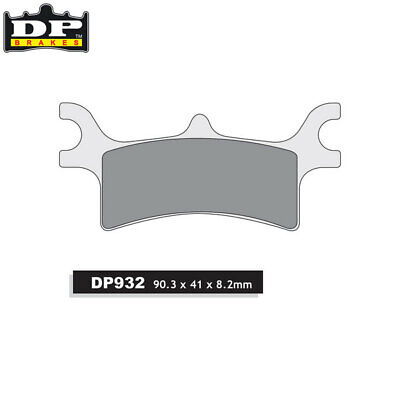 DP Sintered Off-Road/ATV Rear Brake Pads DP932 Polaris Sportsman 450 2006