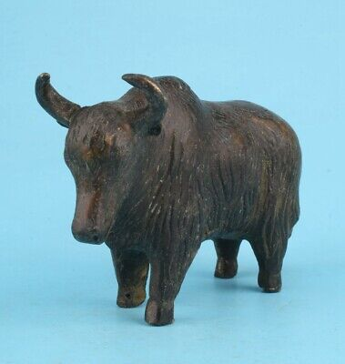 Unique Chinese Bronze Statue Cattle Old Mascot Home Decoration Collection Gift