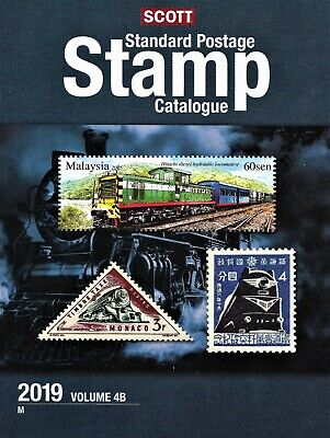 Scott 2019 Standard Stamp Catalogue Volume 4B Countries Of The World M