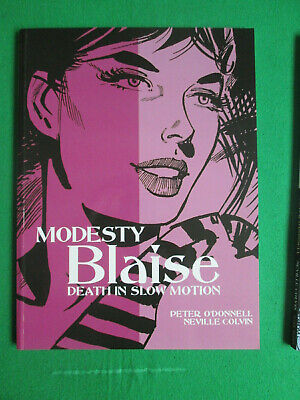 Death In Slow Motion - Modesty Blaise - Peter O'donnell & Colvin - 2010 Titan