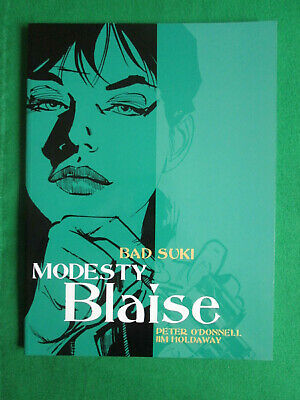 Bad Suki - Modesty Blaise - Peter O'donnell & Jim Holdaway - 2005 Titan