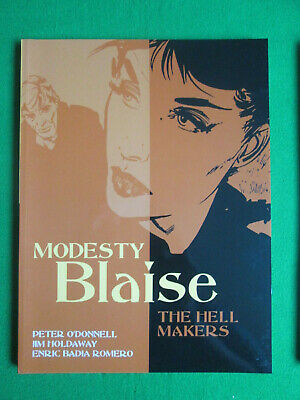The Hell Makers - Modesty Blaise - Peter O'donnell & Jim Holdaway - 2005 Titan